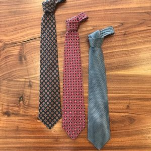 Classic Brooks Brothers + VH Neck Tie Bundle